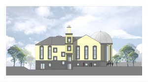 H existing mosque elevation 8